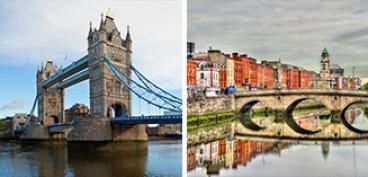 חופשה משולבת:דבלין-לונדון